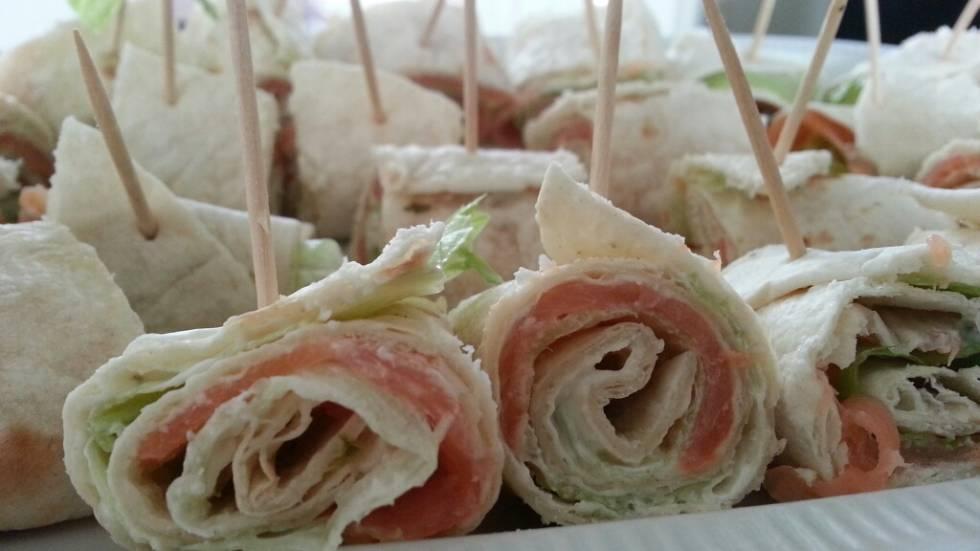recept wraps gerookte zalm