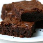 Gezonde brownies; zonder toegevoegde suikers, gluten en lactose!