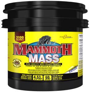 mammoth 2500 weightgainer
