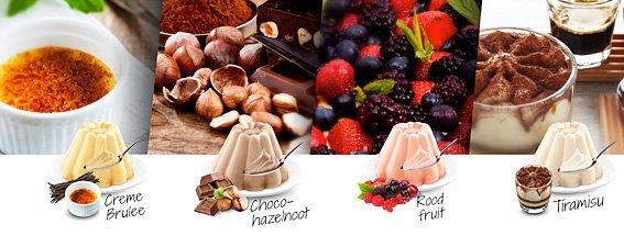 Smaken protein dessert