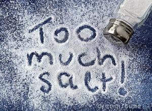 teveel zout