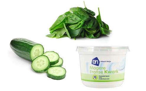 groene smoothie spinazie