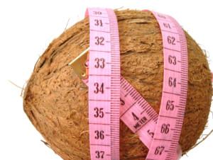 kokosolie en afvallen