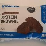 Protein Brownie review – Myprotein
