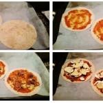 Recept voor gezonde pizza met gehakt en groenten