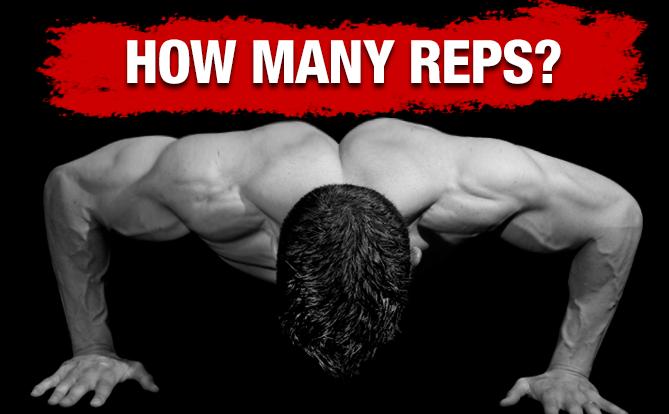 hoeveel herhalingen fitness