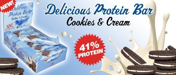 delicious protein bar