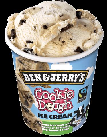 cookie dough ijs