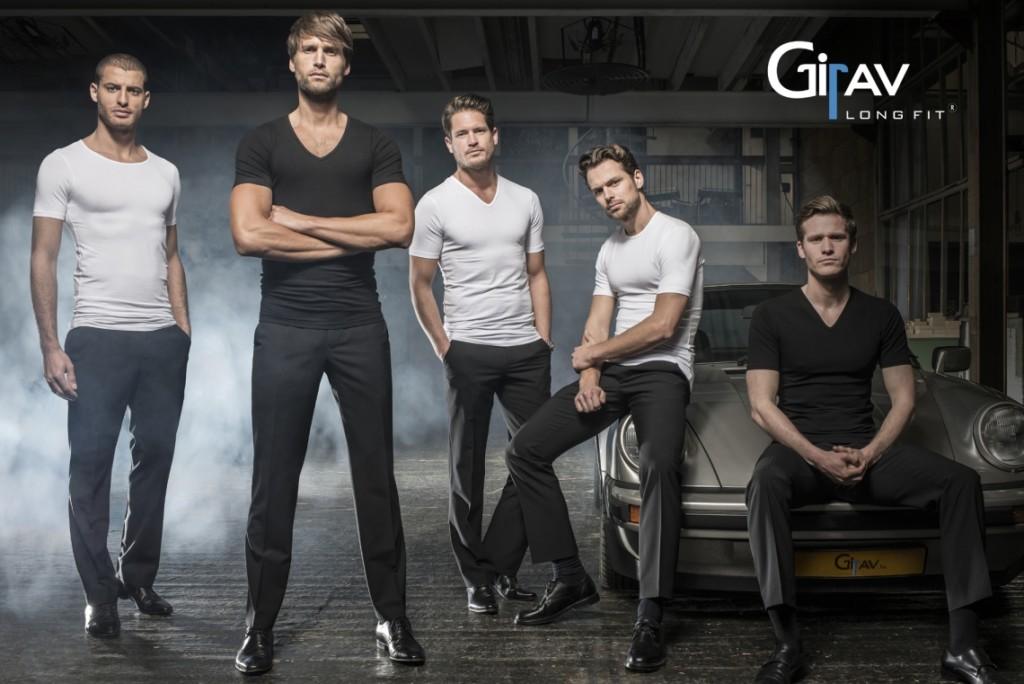 girav shirts voor lange mannen