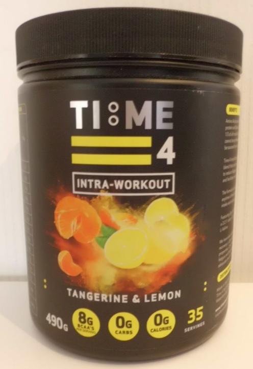 time 4 intra workout ervaring
