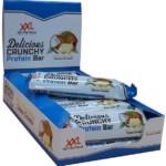 delicious crunchy protein bar