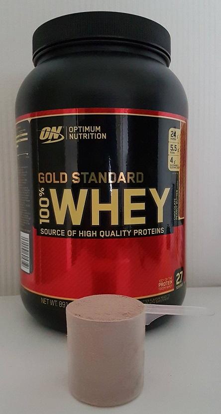 gold standard whey ervaring