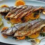 Koolhydraatarm diner op basis van vis