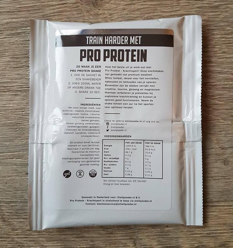 pro protein krachtsport