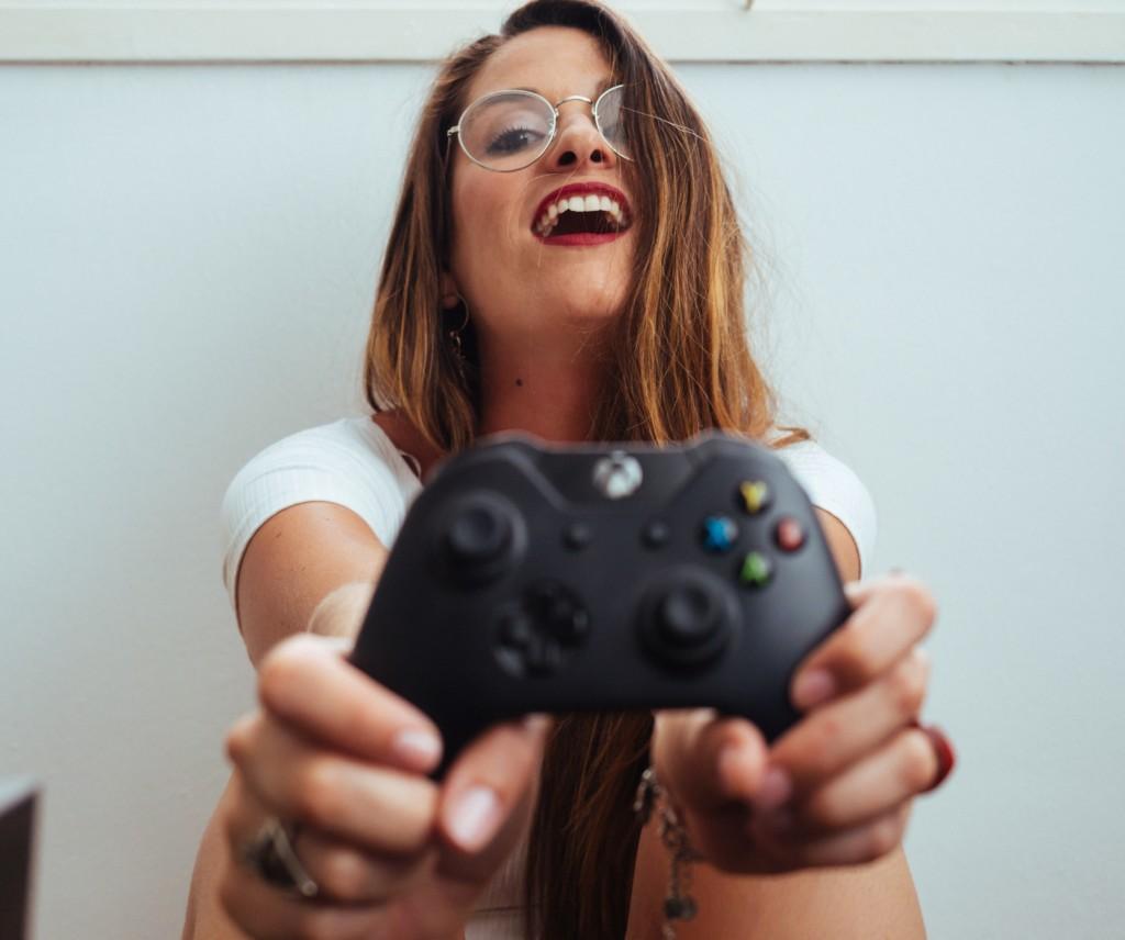 games spelen tijdens fitnessen