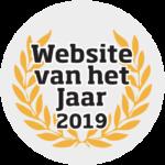 Website van het Jaar 2019 nominatie!