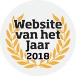 Website van het Jaar 2018 nominatie!