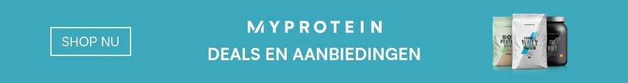 myprotein aanbiedingen