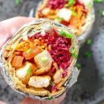 Gezonde burrito met kip recept