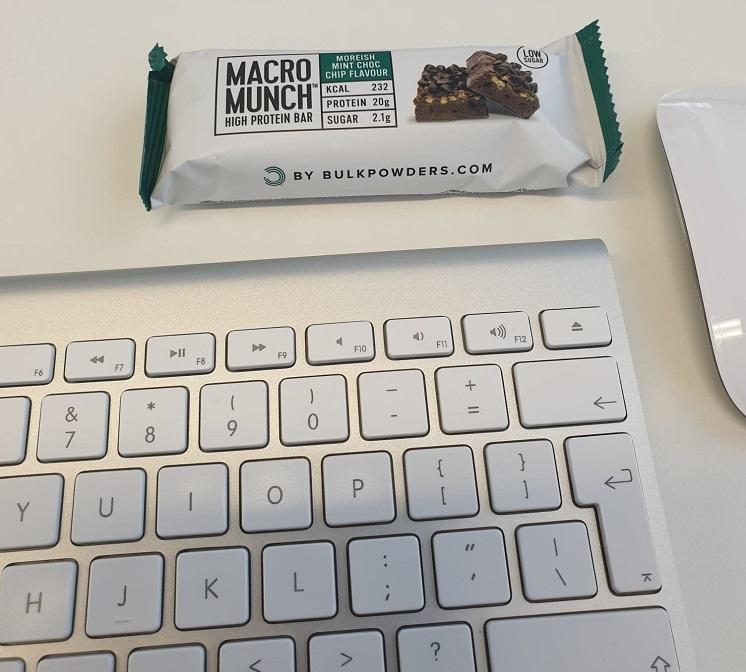 macro munch protein bar ervaring