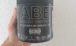 abe pre workout review