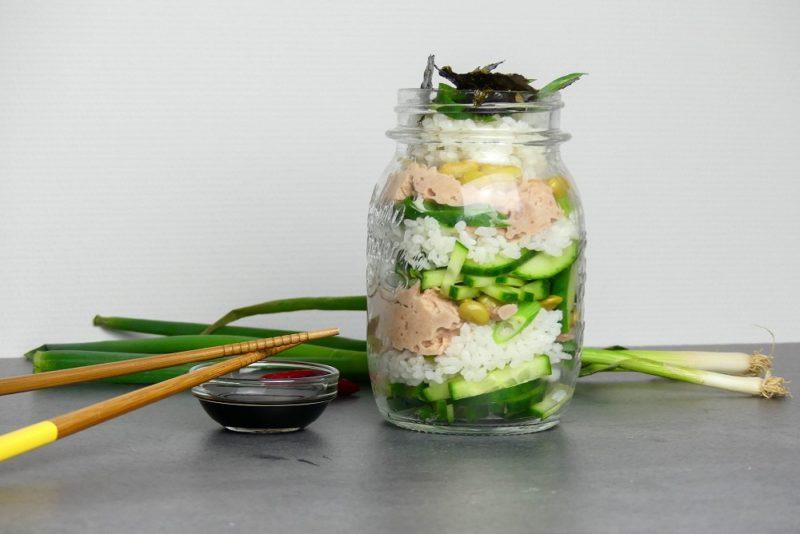 sushi jar maken
