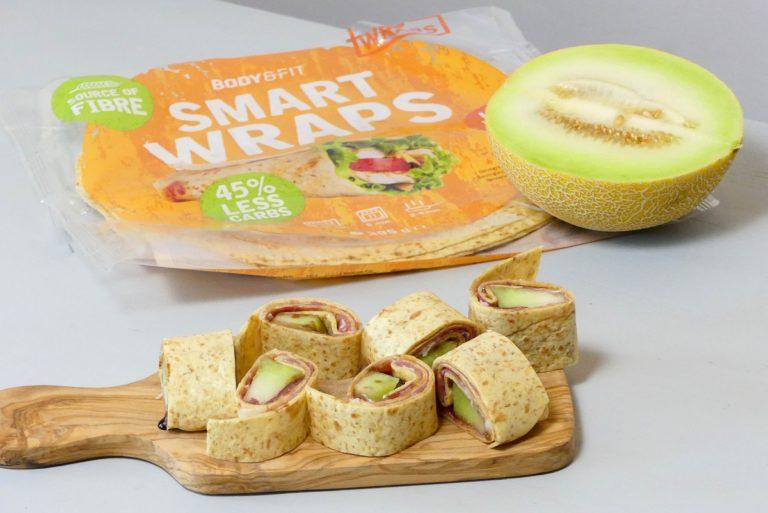wrap met ham en meloen recept