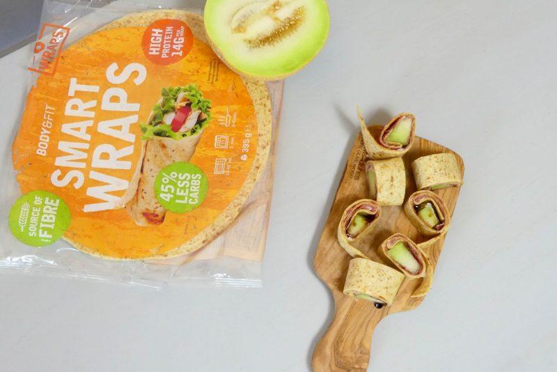 wraps ham meloen