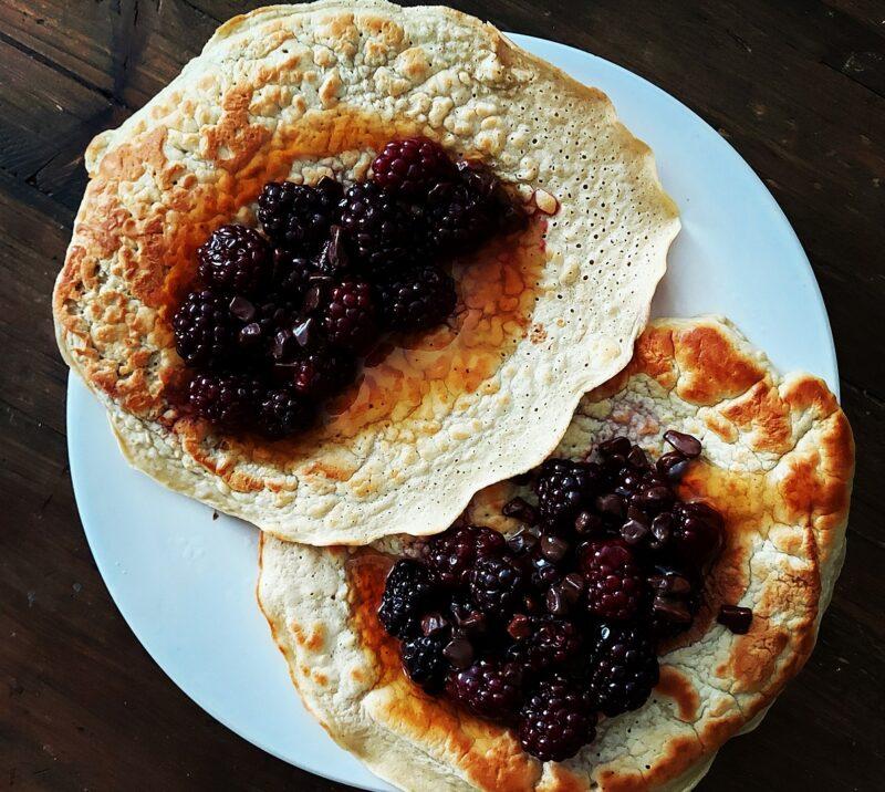 eiwit pannenkoeken recept