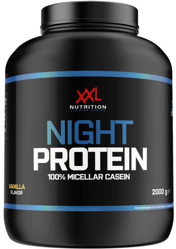 night protein xxl nutrition