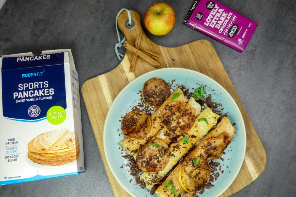 sport pancakes recept